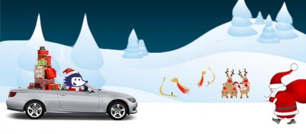 christmas rent a car