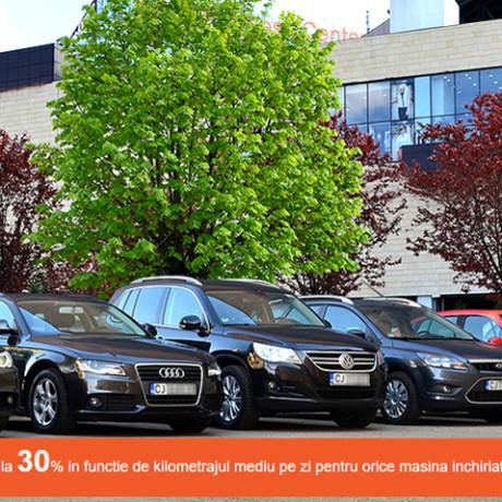 promotii 30 %, 321 rent a car Cluj, inchirieri auto Cluj, promotii rent a car Cluj