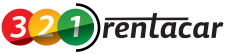 logo 321rentacar transparent