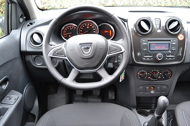 dacia logan sl plus 2018 interior