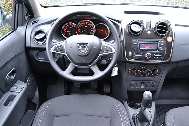 dacia sandero sl plus 2018 interior